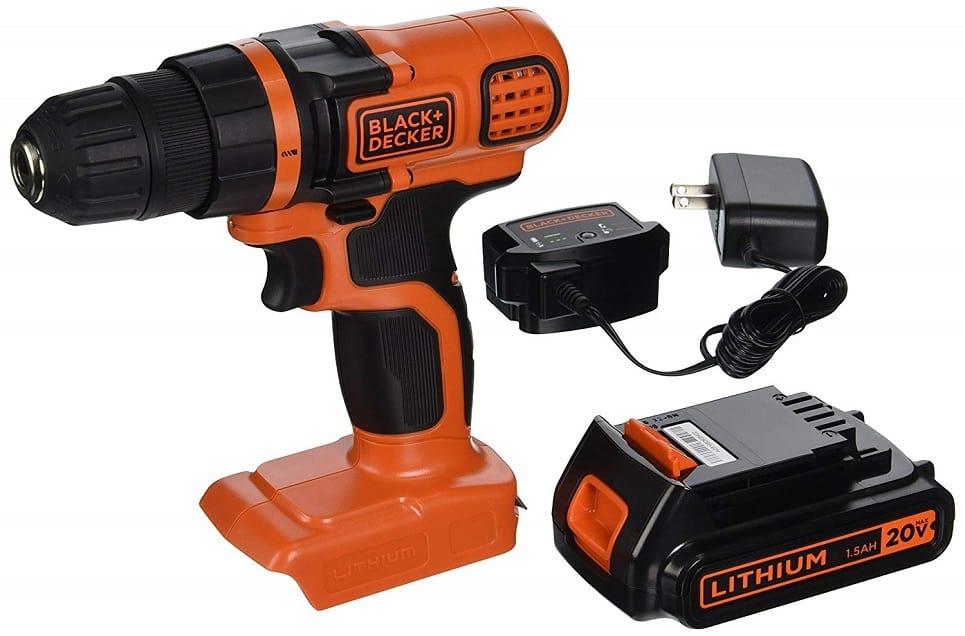 BLACK+DECKER LDX120C Drill/Driver
