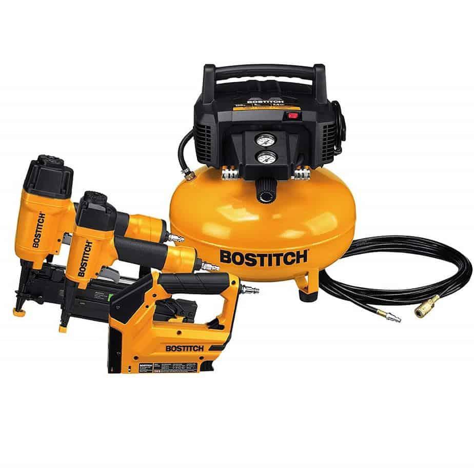 BOSTITCH BTFP3KIT Air Compressor Combo Kit 1
