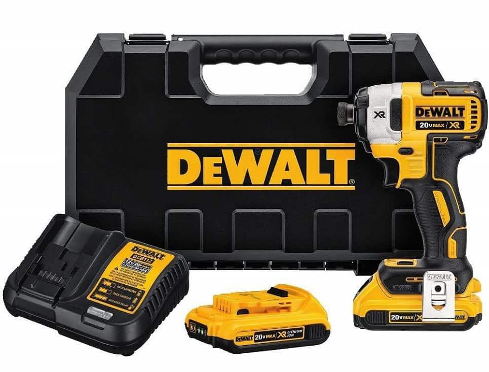 DeWalt DCF887D2 20V MAX XR Impact Driver Kit
