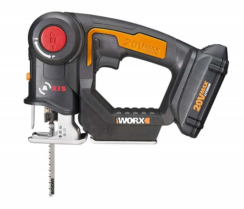 WORX WX550L 20V Reciprocating Saw and Jigsaw
