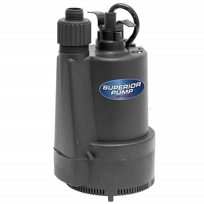 Superior Pump 91330 Utility Pump