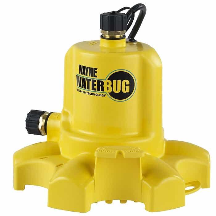 Wayne WWB WaterBUG Submersible Pump