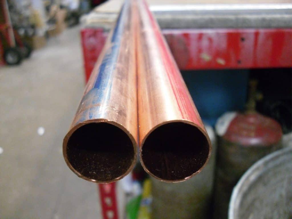 home plumbing copper setting