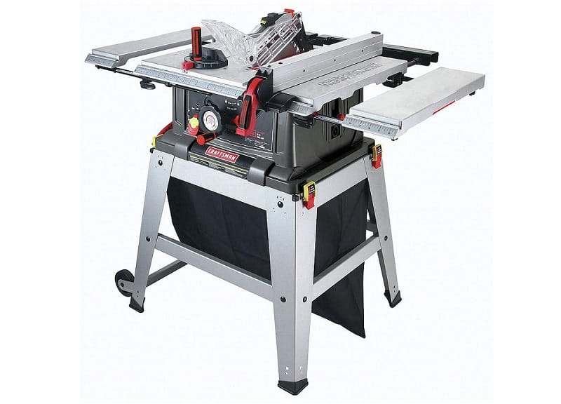 Craftsman Table Saw with Laser Trac 21807