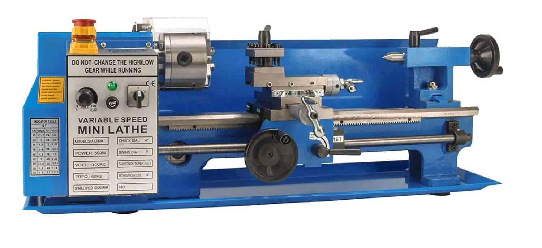 Erie Tools Mini Metal Milling Lathe