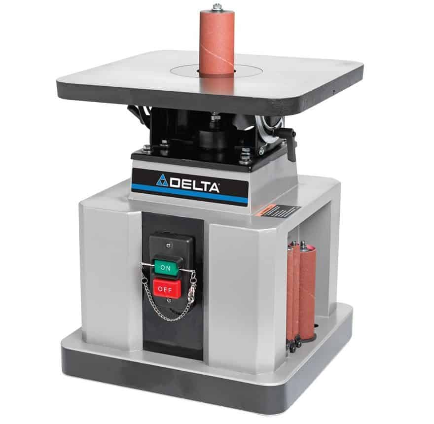 Heavy-Duty Oscillating Bench Spindle Sander