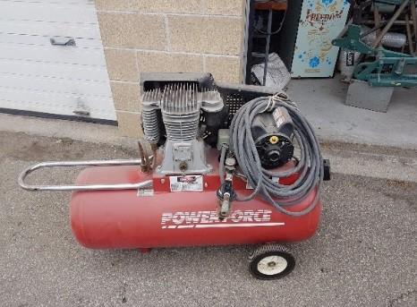 air compressor power