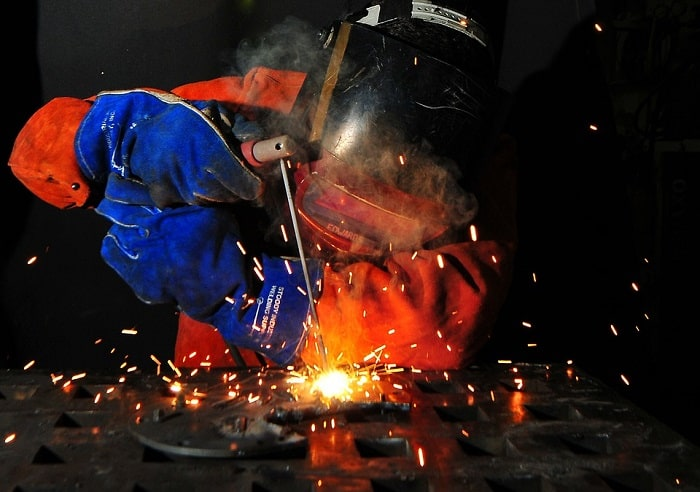 metal welding process