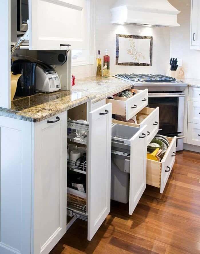 Basement Kitchen and Storage