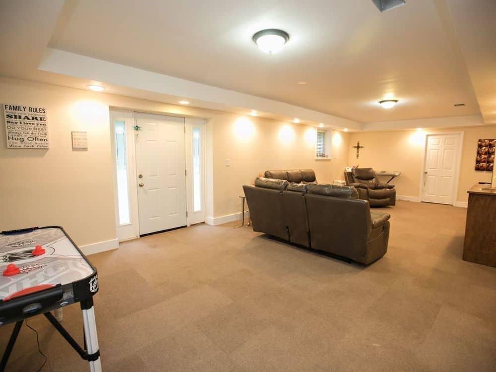 Carpet Tile Basement