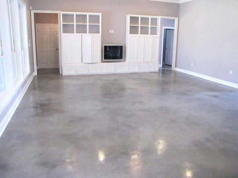 Concrete Flooring Tile Basement