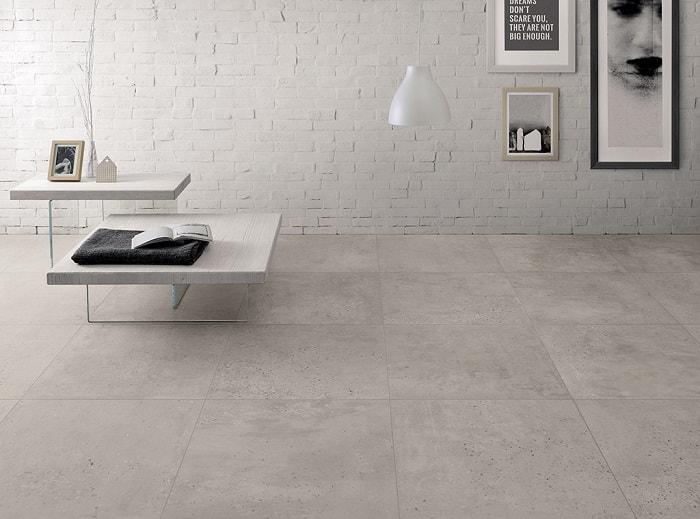 Concrete Tile Modern Aesthetic