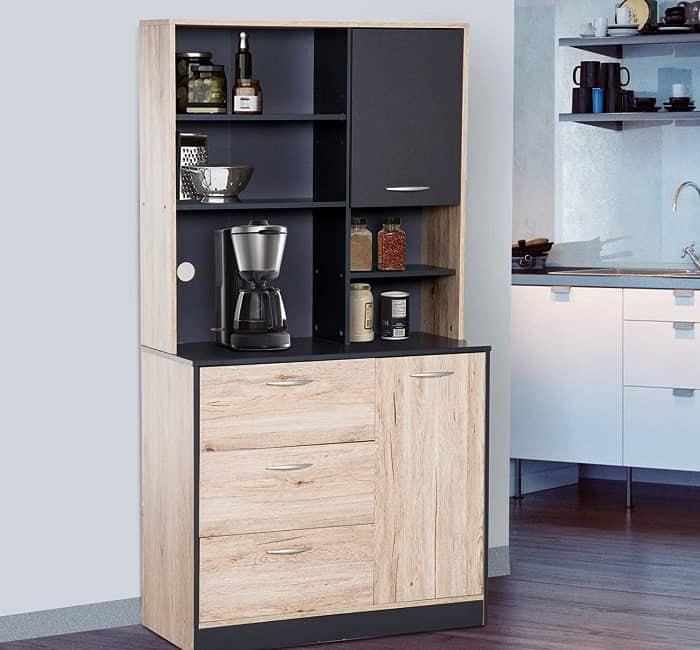 "Homcom 67"" Contemporary Kitchen Hutch"
