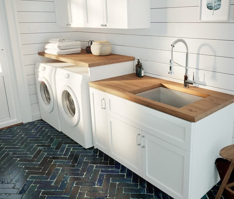 Installing Laundry Sink
