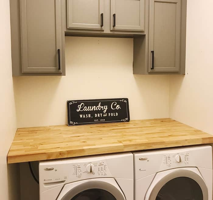Laundry Counters and Work Spaces