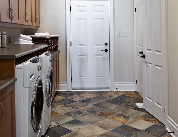 Laundry Room Stone Tile