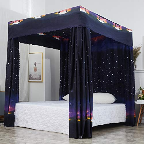 Mengersi Galaxy Four Poster Canopy