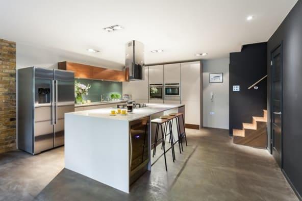 Modern Basement Kitchen