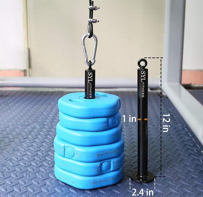 Garage SYL Fitness Pull Down Lat System