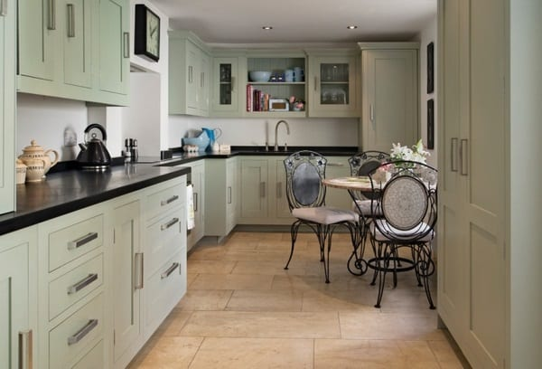 Traditional Basement Kitchen