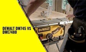 DeWalt DW745 vs DWE7480: Which one is better?
