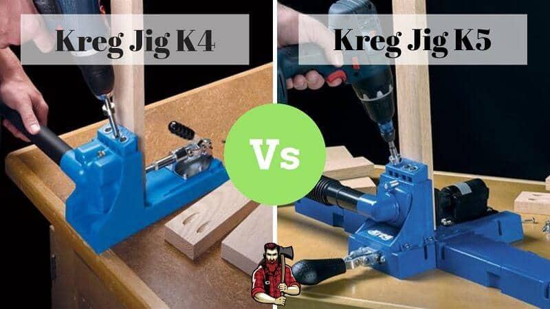 Kreg K4 vs K5