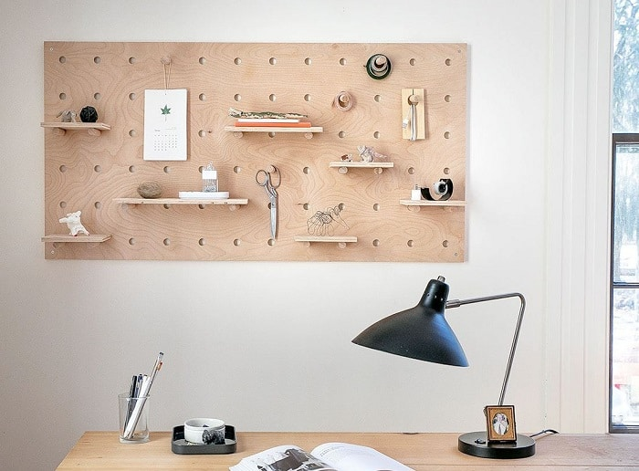 Plywood Pegboard