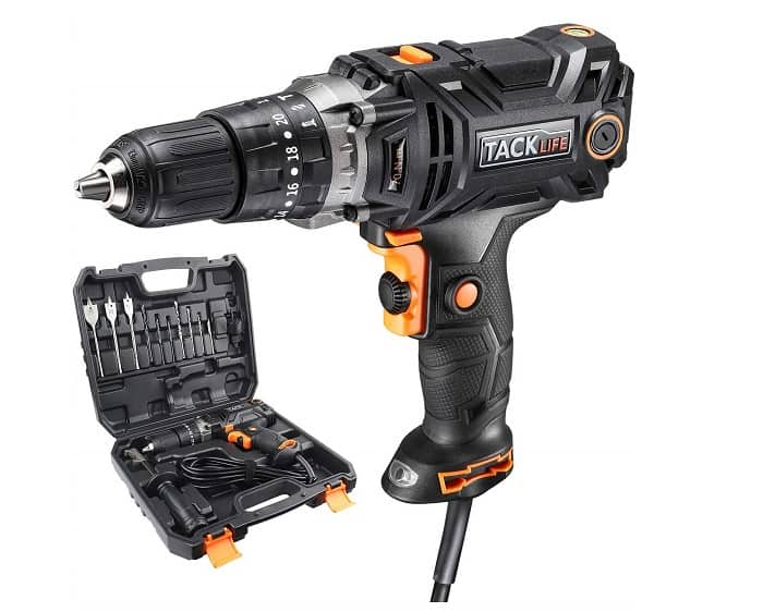 TACKLIFE PID04A Corded Drill Driver