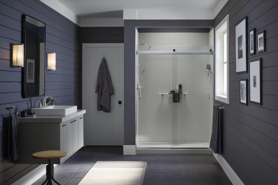 Shower Curtain vs Glass Shower Door