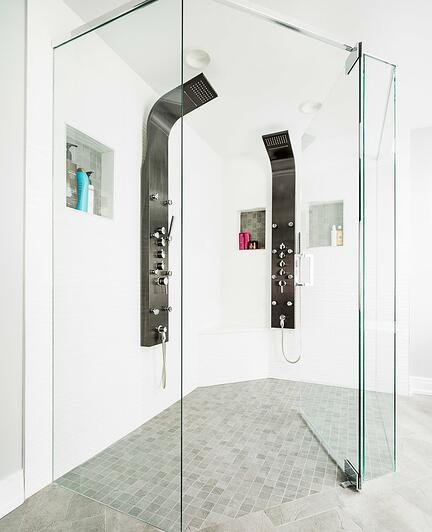 spa shower tiles