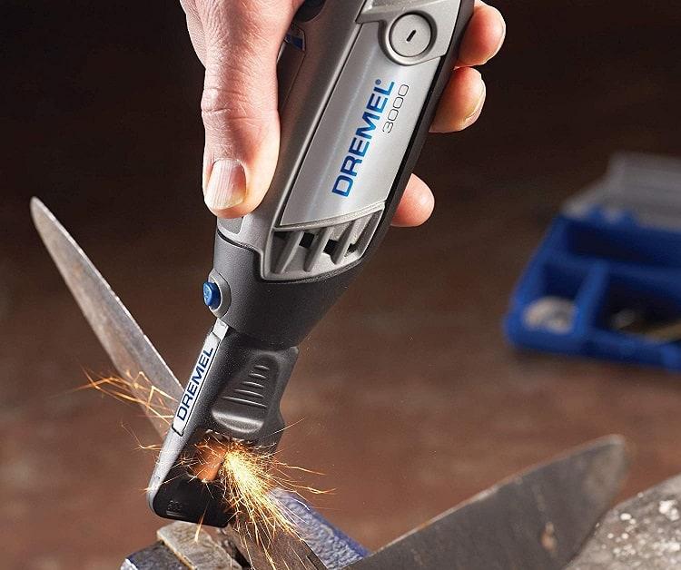 rotary tool sharpening