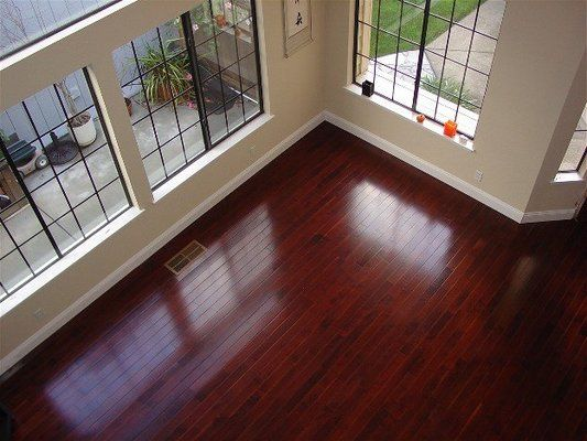Black Cherry Hardwood Floor