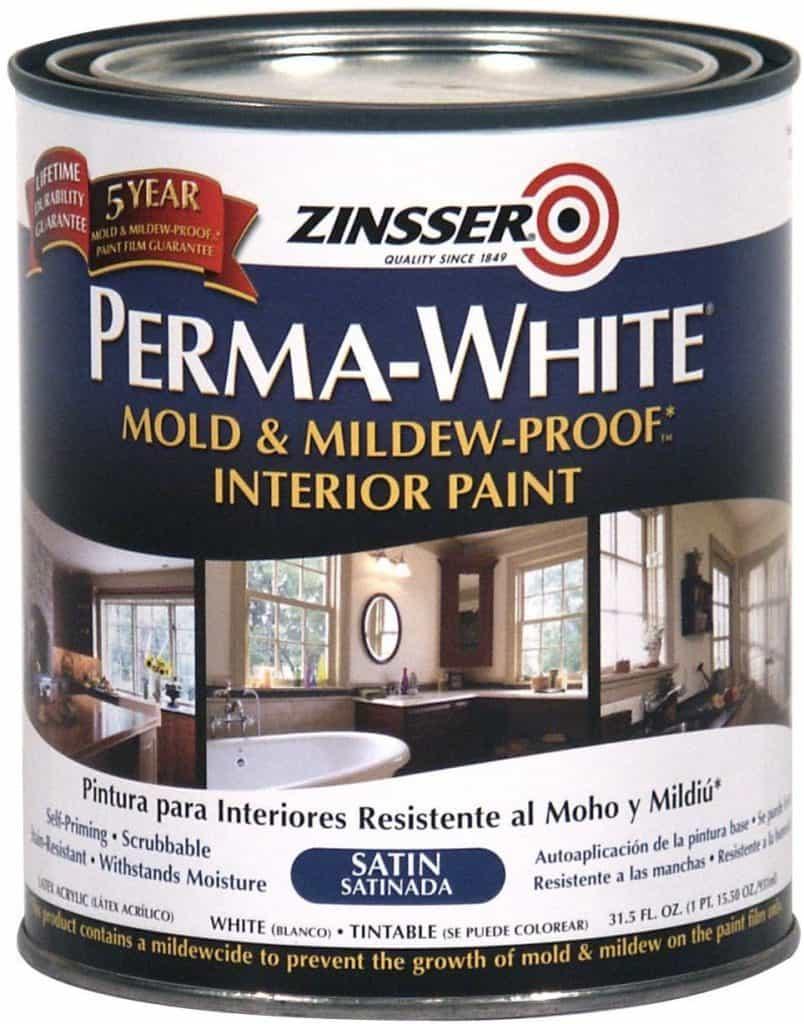 Perma-White Mold & Mildew Proof Paint