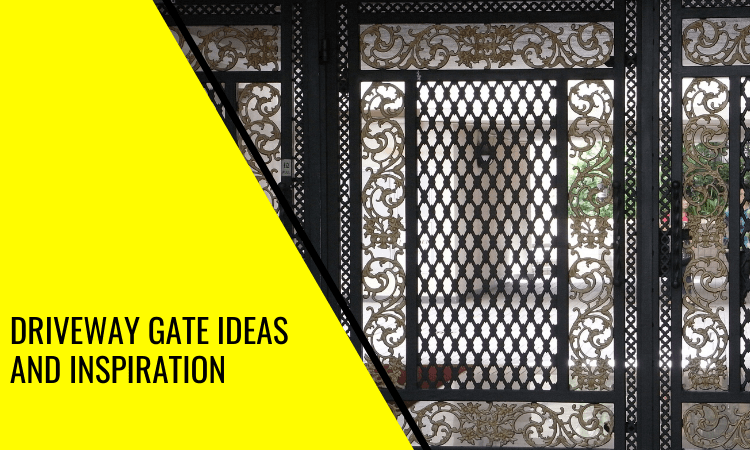 The Best Driveway Gate Ideas and Inspiration That You'll Love!