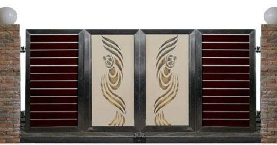 Wrought Iron Driveway Gate Design Ideas 13-min