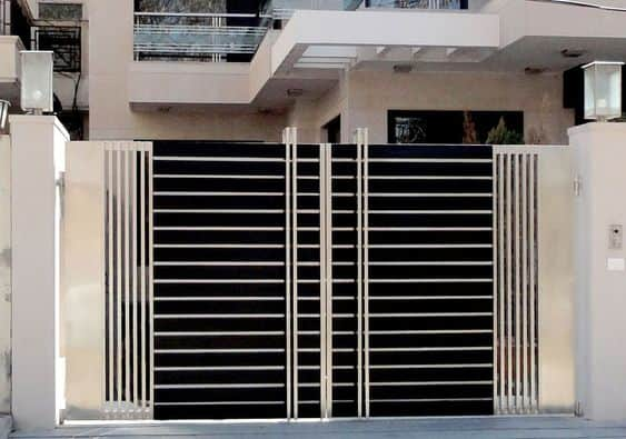 Wrought Iron Driveway Gate Design Ideas 16-min