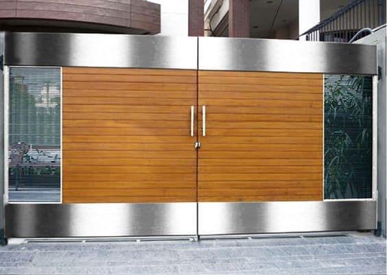 Wrought Iron Driveway Gate Design Ideas 17-min