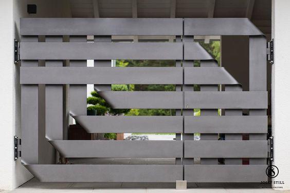 Wrought Iron Driveway Gate Design Ideas 18-min