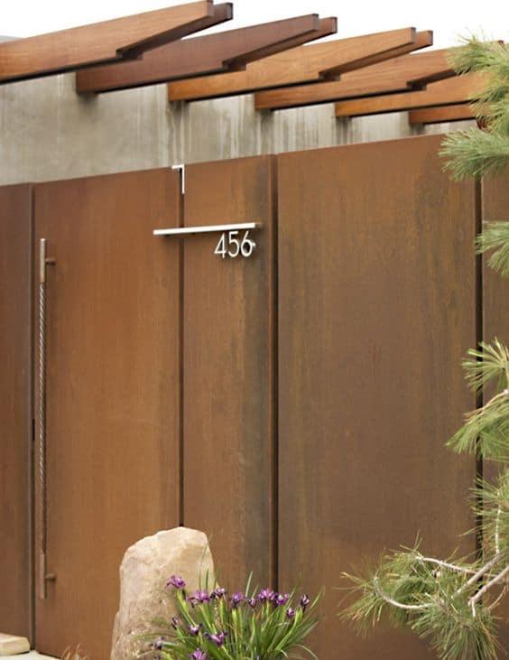Wrought Iron Driveway Gate Design Ideas 23-min
