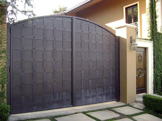 Wrought Iron Driveway Gate Design Ideas 24-min