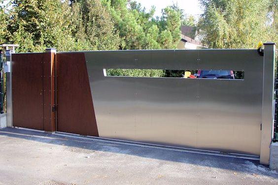 Wrought Iron Driveway Gate Design Ideas 9-min
