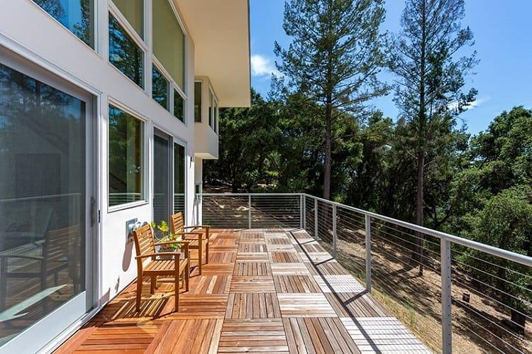 Parquet Balcony Deck