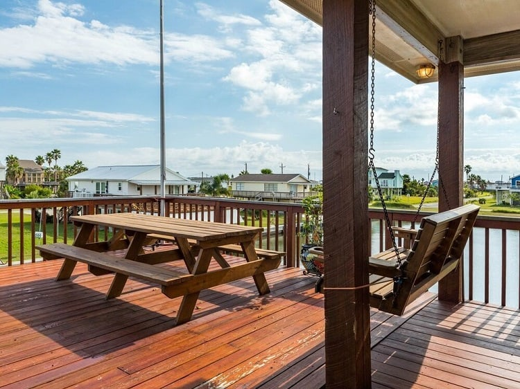 unobstructed views deck