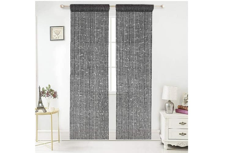 curtains for closets