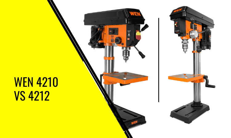 You are currently viewing Wen 4210 vs 4212 – Which Drill Press is Best?