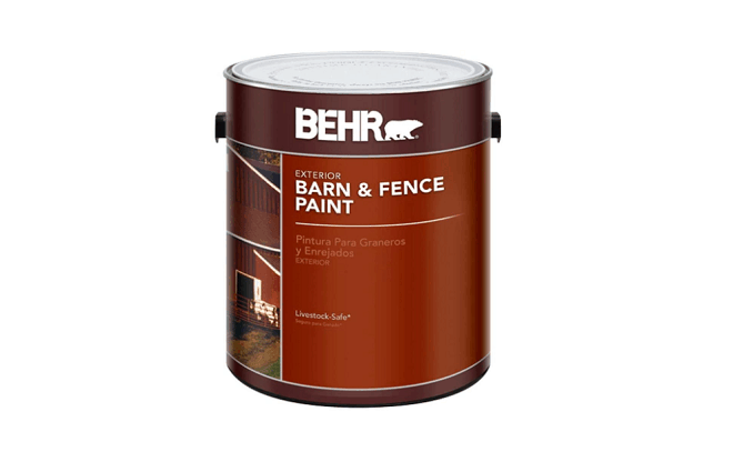 behr barn and fence paint