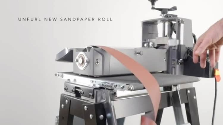 supermax drum sander roll