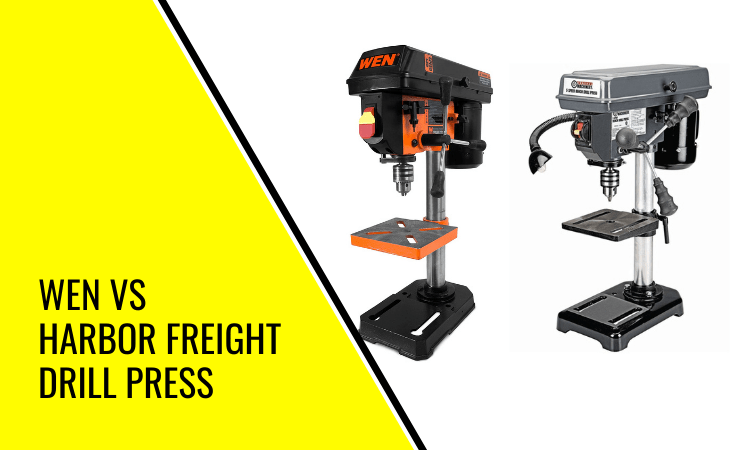 Wen vs Harbor Freight Drill Press Compared: What's the Difference?