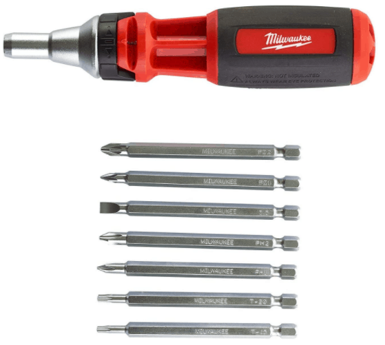 milwaukee multi bit screwdriver