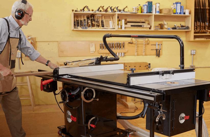 sawstop vs powermatic table saw